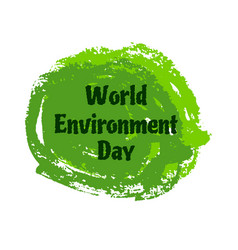 world environment day background world vector image