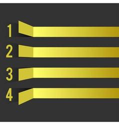 Yellow bar vector