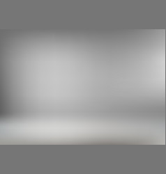 Abstract gray room interior background vector