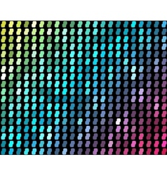 Abstract mosaic neon background vector image