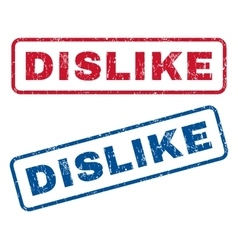 Dislike Rubber Stamps vector