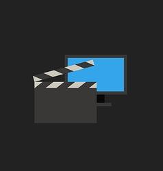 Modern video concept vector