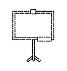 school blackboard isolated vector image