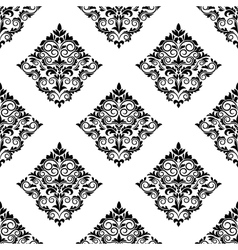 Geometric arabesque seamless pattern vector image vector image