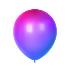 3d birthday balloon vector image