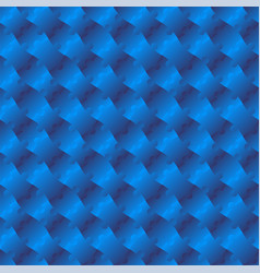 3d jigsaw tile seamless pattern blue 002 vector image