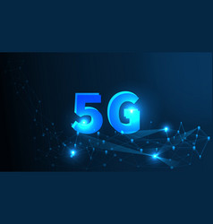 5g network wireless systems and internet all vector image