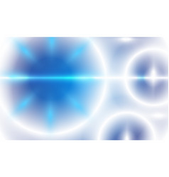 abstract ufo circle blurred blue sky background vector image