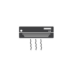 air conditioner icon template vector image