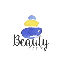 Beuty Care Promo Sign vector image vector image