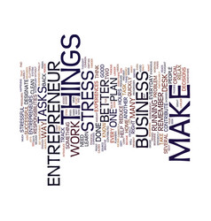 Entrepreneur website text background word cloud vector