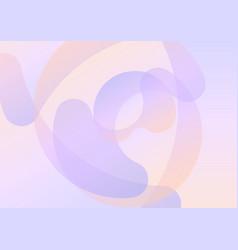 pastel purple orange petal abstract background vector image