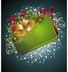 Christmas and new year card vector image vector image