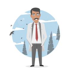 medicine medical staff vector image