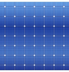 Blue electric solar panel pattern vector