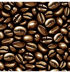 coffee seamless vector image