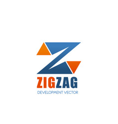 Development company letter z icon vector