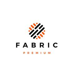 Fabric logo icon vector