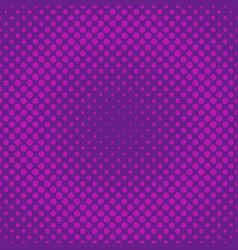 geometric halftone circle pattern background from vector image