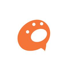 paw animal logo icon design vector image