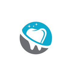 Smile dental logo template icon design vector