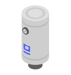 Water boiler icon isometric style vector