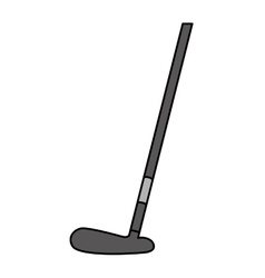 golf club equipment icon vector image