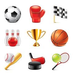 set sport vector image
