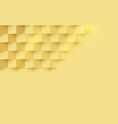 abstract gold squares repeating background vector image