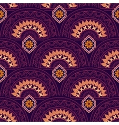 Abstract wallpaper Colorful indian ornament vector