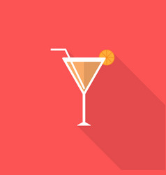 drink icon set of great flat icons with style vector image