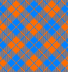 fabric texture diagonal pattern seamless orange vector image