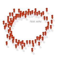 Human icon group vector image