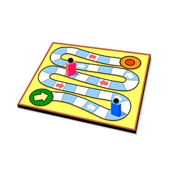 Icon board game vector