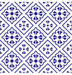 tile pattern background vector image