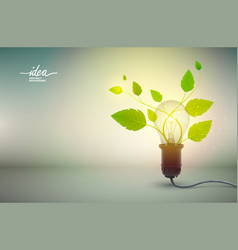 Yellow light bulb idea abstract background poster vector