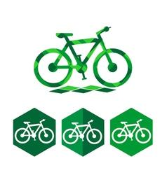 Bike icon design vector image