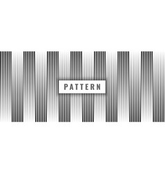 abstract seamless pattern black vertical lines on vector image