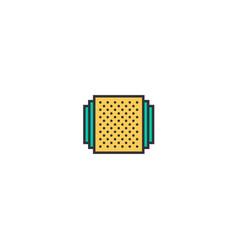 album icon design essential icon design vector image