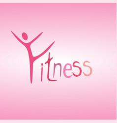 athletics logo human running logo character it vector image