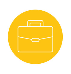 business suitcase icon vector image