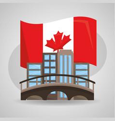 canada country symbols vector image