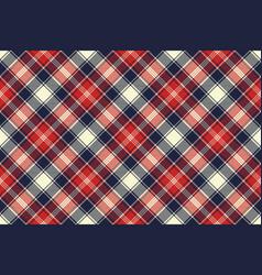 check fabric texture diagonal lines seamless vector image