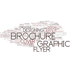 designing word cloud concept vector image