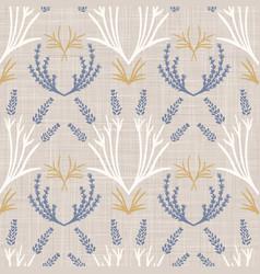 french shabchic lavender damask texture vector image