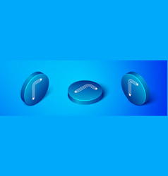 Isometric tool allen keys icon isolated on blue vector