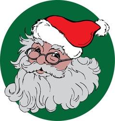 Jolly santa vector