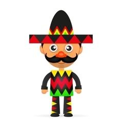 Mexican hat sombrero vector