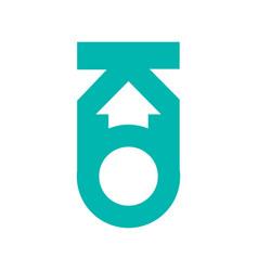 modern icon design logo element best for identity vector image
