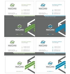 Packing business card 2 vector